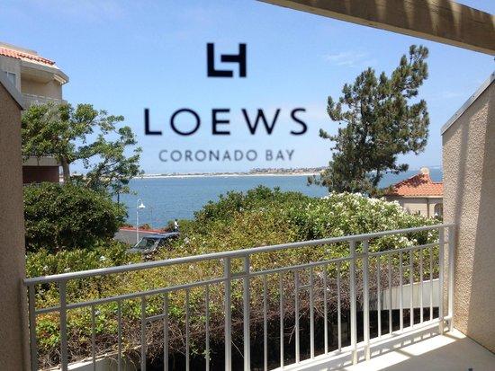 Loews Coronado Bay Resort: our room view