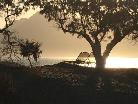 Alianthos Beach Hotel: beach