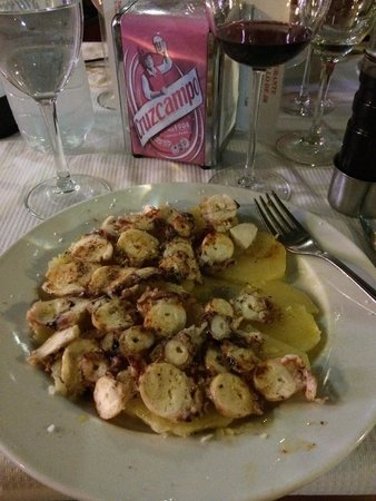 El Rinconcillo de JR: Inkfish with patato's