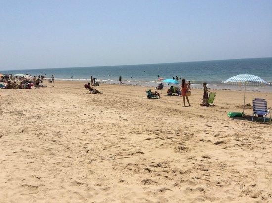 Playa Victoria: Пляж