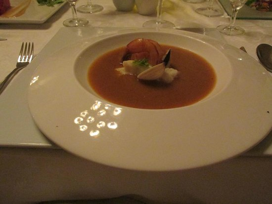 Luxury Bahia Principe Runaway Bay Don Pablo Collection : amazing soup