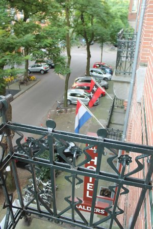 Hotel Aalders: View from balcony