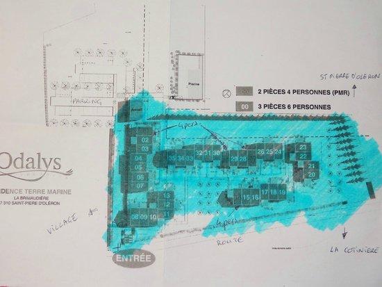 Residence Odalys Terre Marine: plan général