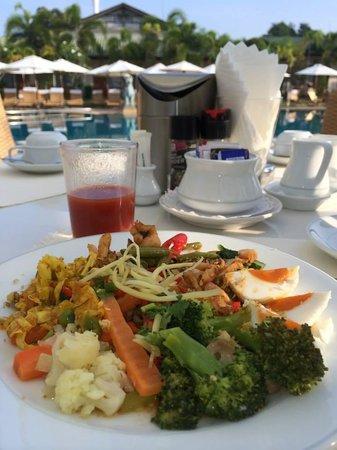 Thai Garden Resort: Frühstück im ThaiGarden
