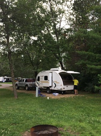 Stand Rock Campground: camp sight #19