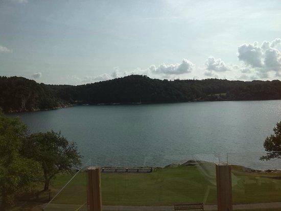 Vann Spa Hotell & Konferens: uitzicht vanaf terras