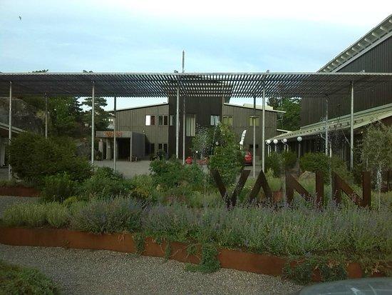 Vann Spa Hotell & Konferens: hoofdingang