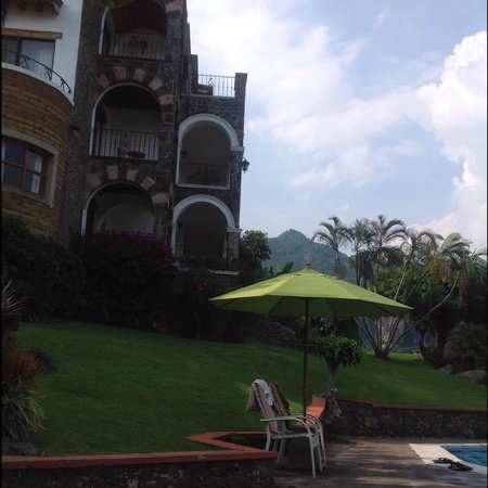 Posada Del Tepozteco: Vista desde la alberca