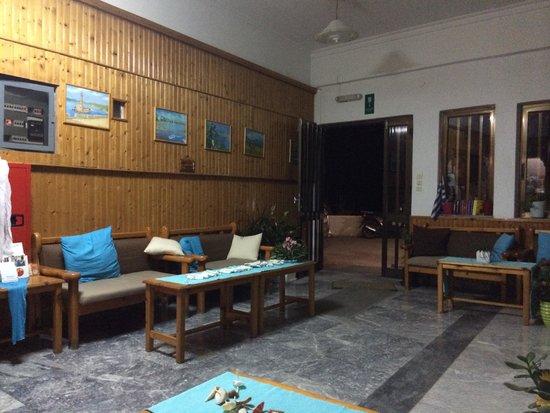 Klinakis Beach Hotel: Ingresso