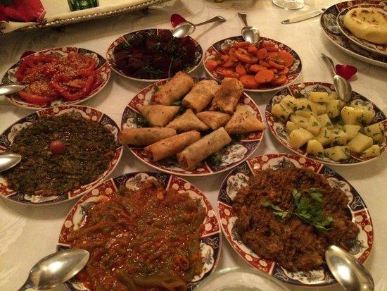 Riad Kniza: dinner