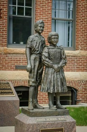 Owatonna, MN: The State School Kids Memorial Statue