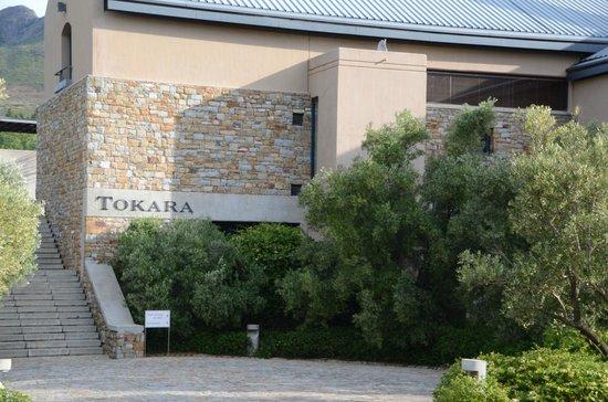 Tokara: Entrance to a great wine tasting experience