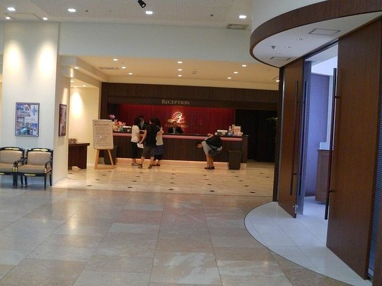 BEST WESTERN Rembrandt Hotel Kagoshima Resort : Hotel Reception