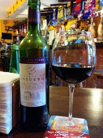 Taberna Ramón: La carta de vino hay para todos los gustos y bolsillos