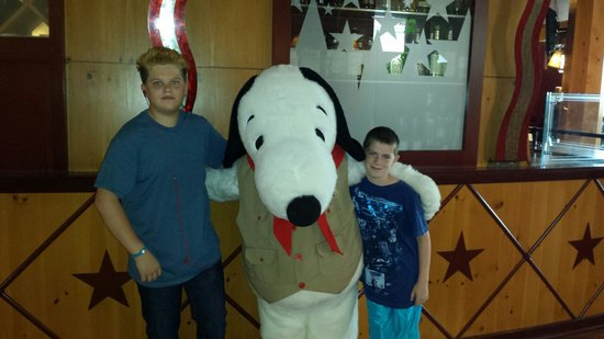 Knott's Berry Farm Hotel: Snoopy