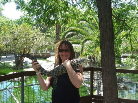 Crocodile Park: Me and the baby croc