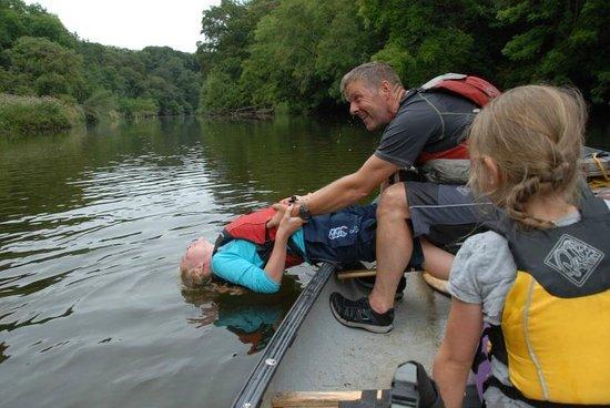 Cardigan Bay Active: Teify canoe trip6