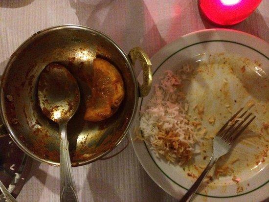 Indian Ocean : Empty dish!!!