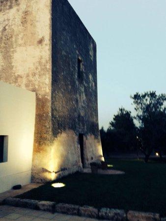 Torre del Cardo : Это вход в рест