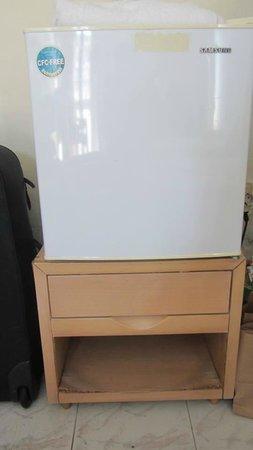 City Center Hotel: old shelf for fridge