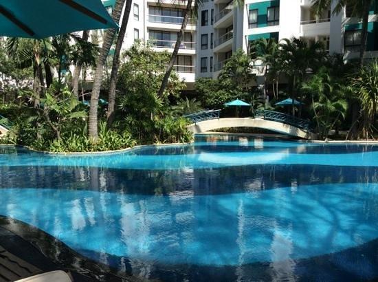 Chatrium Residence Sathon Bangkok : piscine