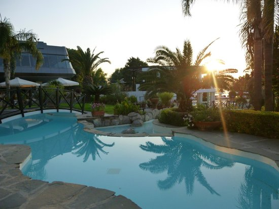Hotel Calypso : water area (not swimming pool) at sunrise