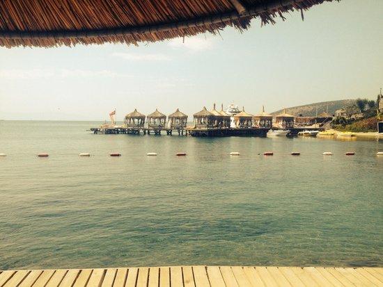 WOW Bodrum Resort: Beach jeti