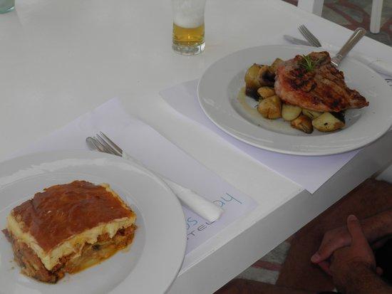 Mykonos Bay Hotel: boa comida
