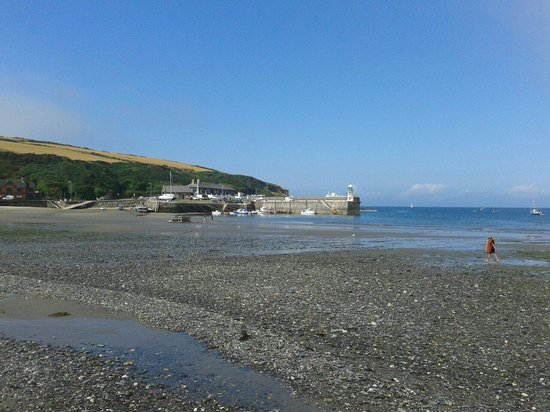 Isle of Man Bus and Rail: Port Erin bay.