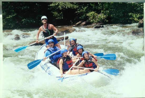 On the Ocoee with Cherokee Rafting!
