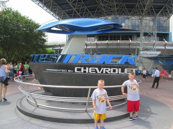 Epcot: Test Track