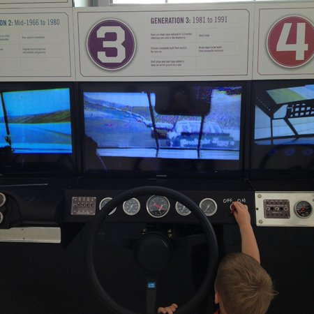 NASCAR Hall of Fame: mais uma dos simuladores. São 6 gerações no total