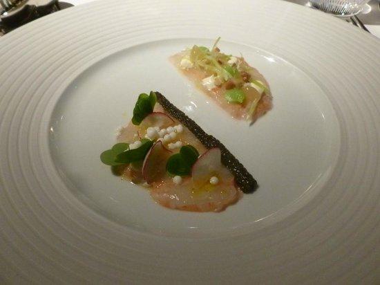 Baerenthal, France: Langoustines au caviar gold