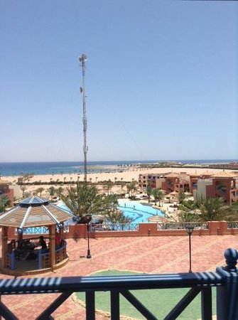 Faraana Heights Resort: территория из главного корпуса