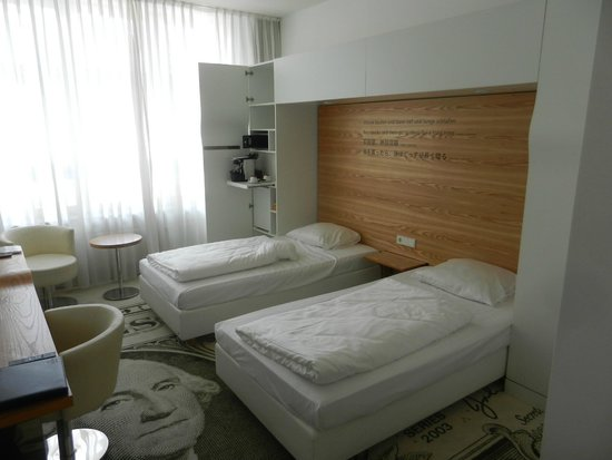Hotel Mitte Berlin : The room I had. Great!