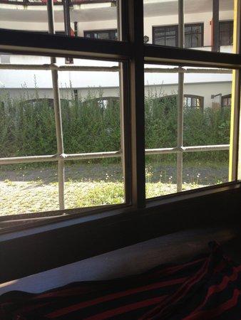 Hotel Schloss Rosenegg: Utsikt från vårt rum