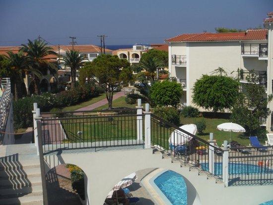 Katerina Palace Hotel: view