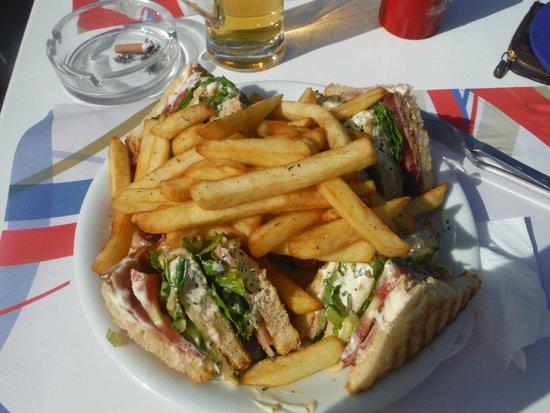 Katerina Palace Hotel: club sandwich