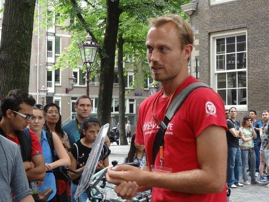 SANDEMANs NEW Europe - Amsterdam : Great Tour!
