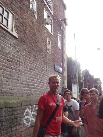 SANDEMANs NEW Europe - Amsterdam : Onno was an awesome guide!