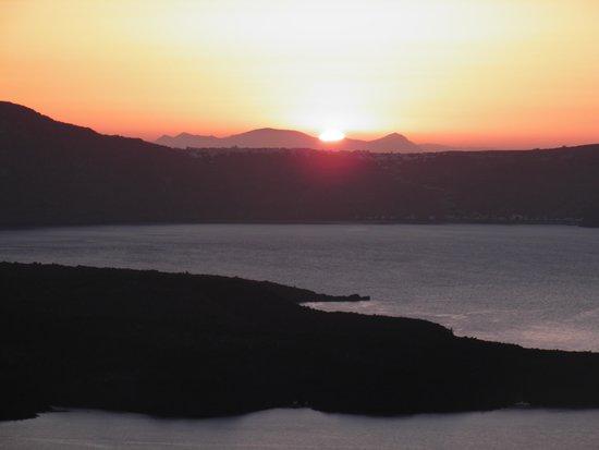 Lilium Villas Santorini: maravilhoso por do sol