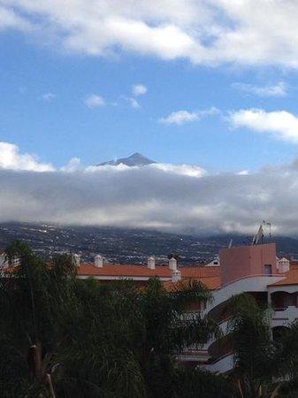 Hotel Riu Garoe: vista del Teide