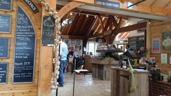 The Garlic Farm Cafe: Garlic Shop