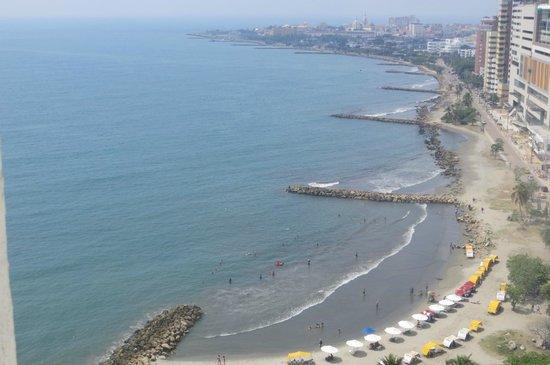 Decameron Cartagena: Vista diurna desde la habitación