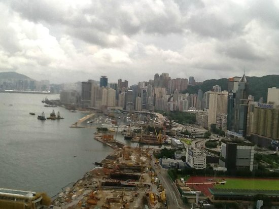 Renaissance Hong Kong Harbour View Hotel: view of the city