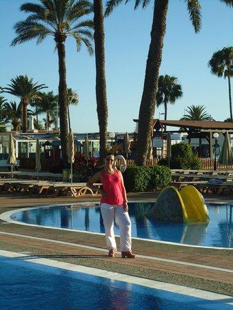 HD Parque Cristobal Gran Canaria: Piscinas muito bonitas