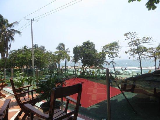 Decameron Cartagena: Vista desde la terraza