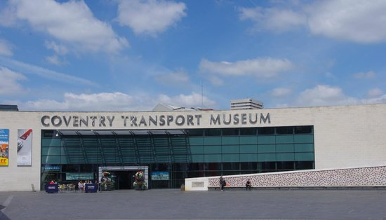 Entrance Coventry Transport Museum