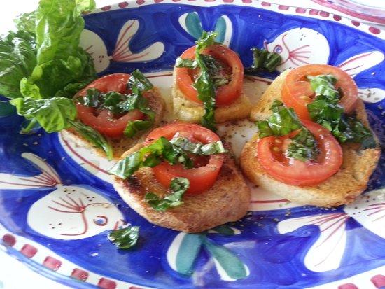 Al Barilotto Del Nonno : Brusqueta deliciosa
