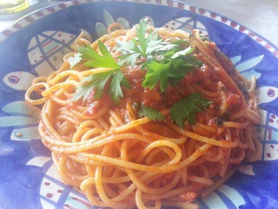Al Barilotto Del Nonno : Spaguetti a Felipo (muito bom)